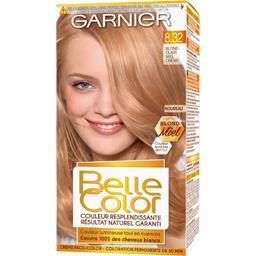 Belle Color - Coloration blond clair miel crème 8.32