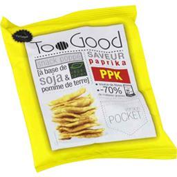TooGood Snack poppé à base de soja & pomme de terre saveur paprika le paquet de 25 g