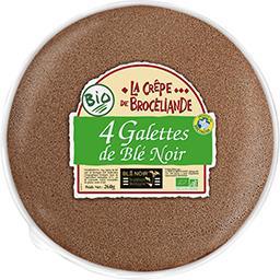 La Crêpe Brocéliande Galettes de blé noir BIO le paquet de 260 g
