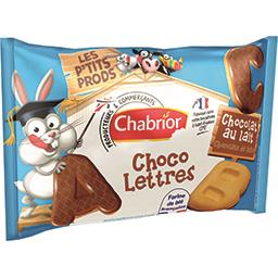 Biscuits Choco Lettres chocolat au lait