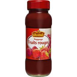 Nappage à la purée de fruits rouges