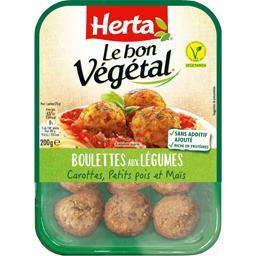 Le Bon Végétal - Boulettes aux légumes