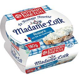 Les Recettes de Madame Loïc - Le Fromage Fouetté nat...