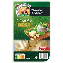 Saveur d'Italie - Pâtes Girasoles au pesto basilic et pignons