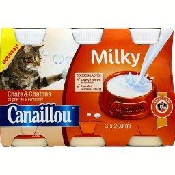 Milky, boisson lactée pour chats & chatons