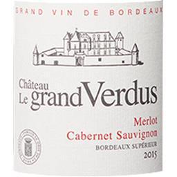 Bordeaux Supérieur Château Le Grand Verdus vin Rouge...