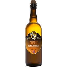 Bière ambrée de Bourgogne