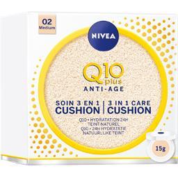 Q10 Plus Anti-âge - Soin 3 en 1 Cushion 02 Medium