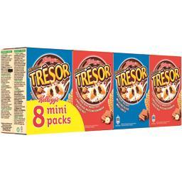 Kellogg's Trésor - Céréales chocolat noisettes et chocolat au ... les 8 boites de 30 g
