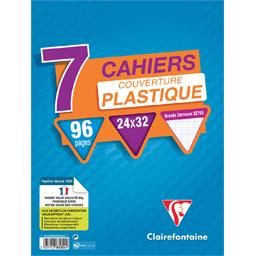 Cahiers piqure 240x320, 96 pages seyes