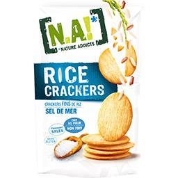 Rice Crackers - Crackers sel de mer