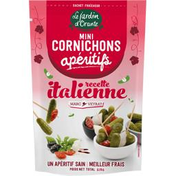 Mini cornichons apéritifs recette italienne