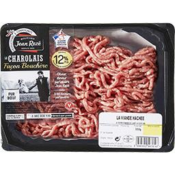Viande hachée charolaise 12% mg