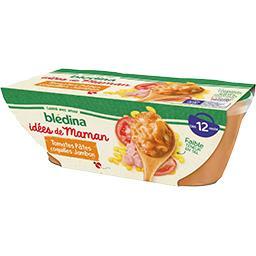 Blédina Blédina Les Idées de Maman - Tomates pâtes coquilles jambon,...