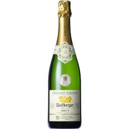 Crémant d'Alsace brut BIO, vin blanc
