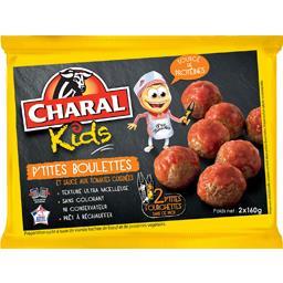 Kids - P'tites boulettes et sauce aux tomates