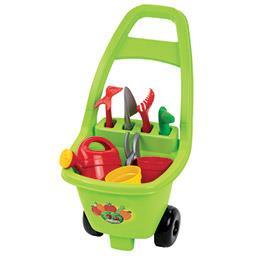 Chariot de jardinage garni