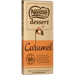 Dessert - Chocolat au lait au caramel