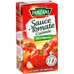 Sauce tomate cuisinée ail & oignons