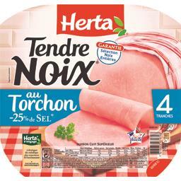 Tendre Noix - Jambon au torchon réduit en sel