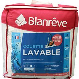 Couette lavable blanche 240x220