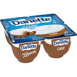 Danette - Dessert Le Liégeois café