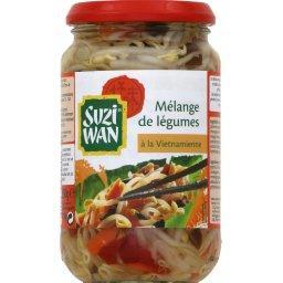 Mélange de légumes asiatiques