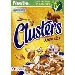 Clusters - Céréales amandes