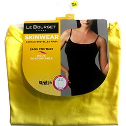 Caraco Skinwear bretelles fines taille 1/2 jaune