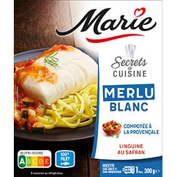 Secrets de Cuisine - Merlu compotée provençale linguine