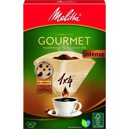 Filtres à café 1x4 Gourmet Intense