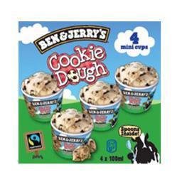 Crèmes glacées Mini Cups Cookie Dough