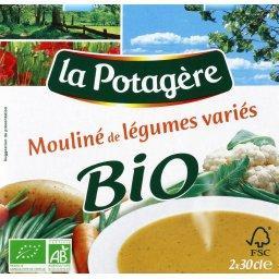 Mouliné de légumes variés bio