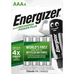 Energizer Power Plus - Piles rechargeables AAA HR03