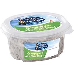 Jardinière, salade champignons fines herbes
