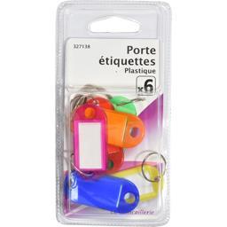 Porte étiquettes plastique