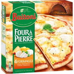 Four à Pierre - Pizza 4 Formaggi