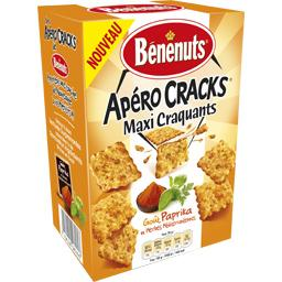 Apéro Cracks maxi craquants paprika herbes méditerranéennes