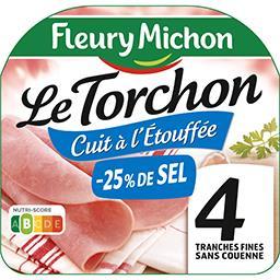 Le Torchon - Jambon sans couenne réduit en sel