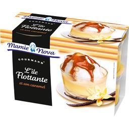 Gourmand - L'Ile Flottante et son caramel