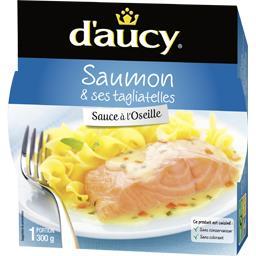 Saumon & ses tagliatelles sauce à l'oseille