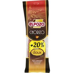 Elpozo Chorizo doux le paquet de 200 g