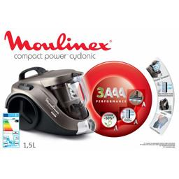 Aspirateur sans sac Compact Power Cyclonic, marron