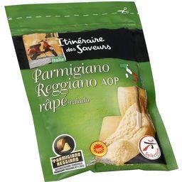 Itinéraire des Saveurs Parmigiano Reggiano AOP râpé le sachet de 60 g