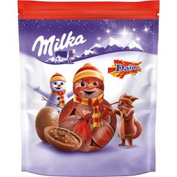 Milka Bonbons de chocolat au lait Daim le sachet de 86 g