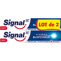 Dentifrice Système Blancheur