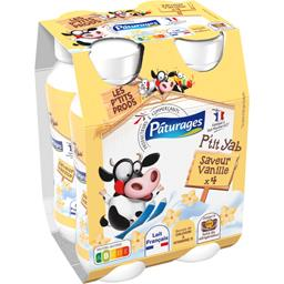 P'tit Yab - Yaourt à boire vanille