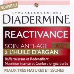 Diadermine Réactivance - Soin anti-âge jour, peaux très matures...