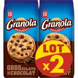 Granola - Biscuits gros éclats de chocolat