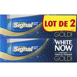 Signal White Now - Dentifrice Triple Power Gold